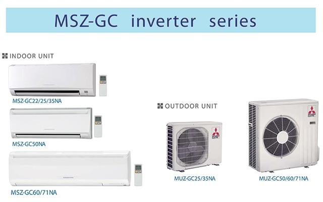Package Air Conditioners—Mr Slim